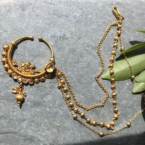 Jewelry - Indian Style Nose Chain